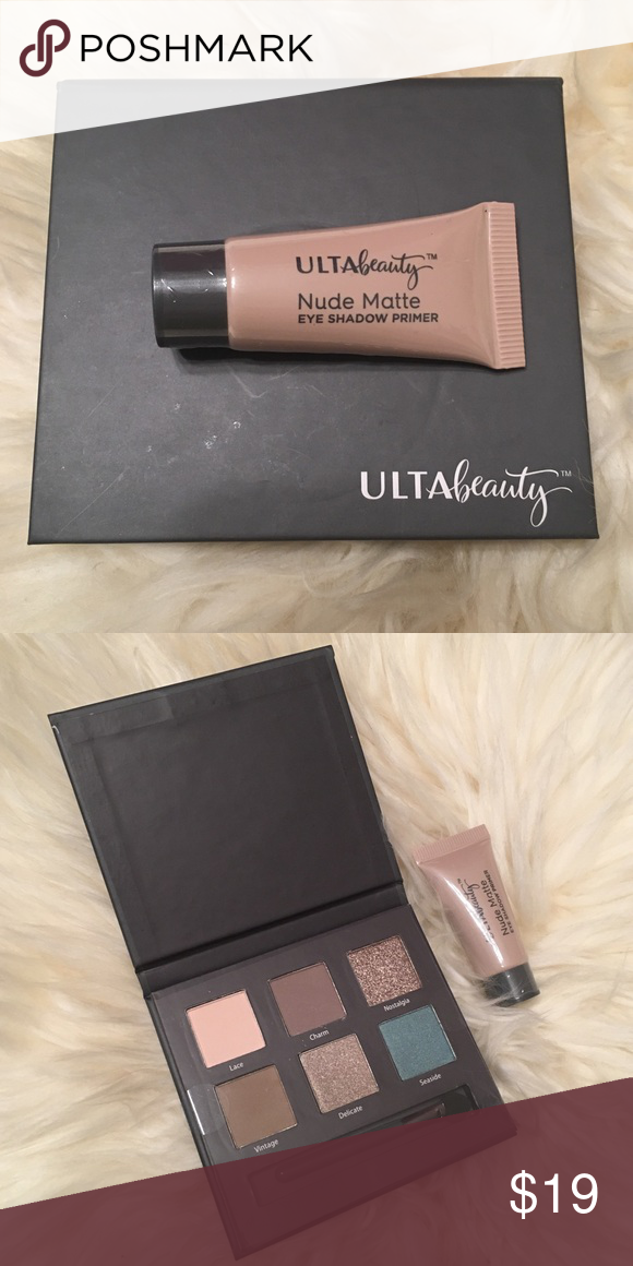 ULTA 6 eye shadow palette & primer NWT (With images