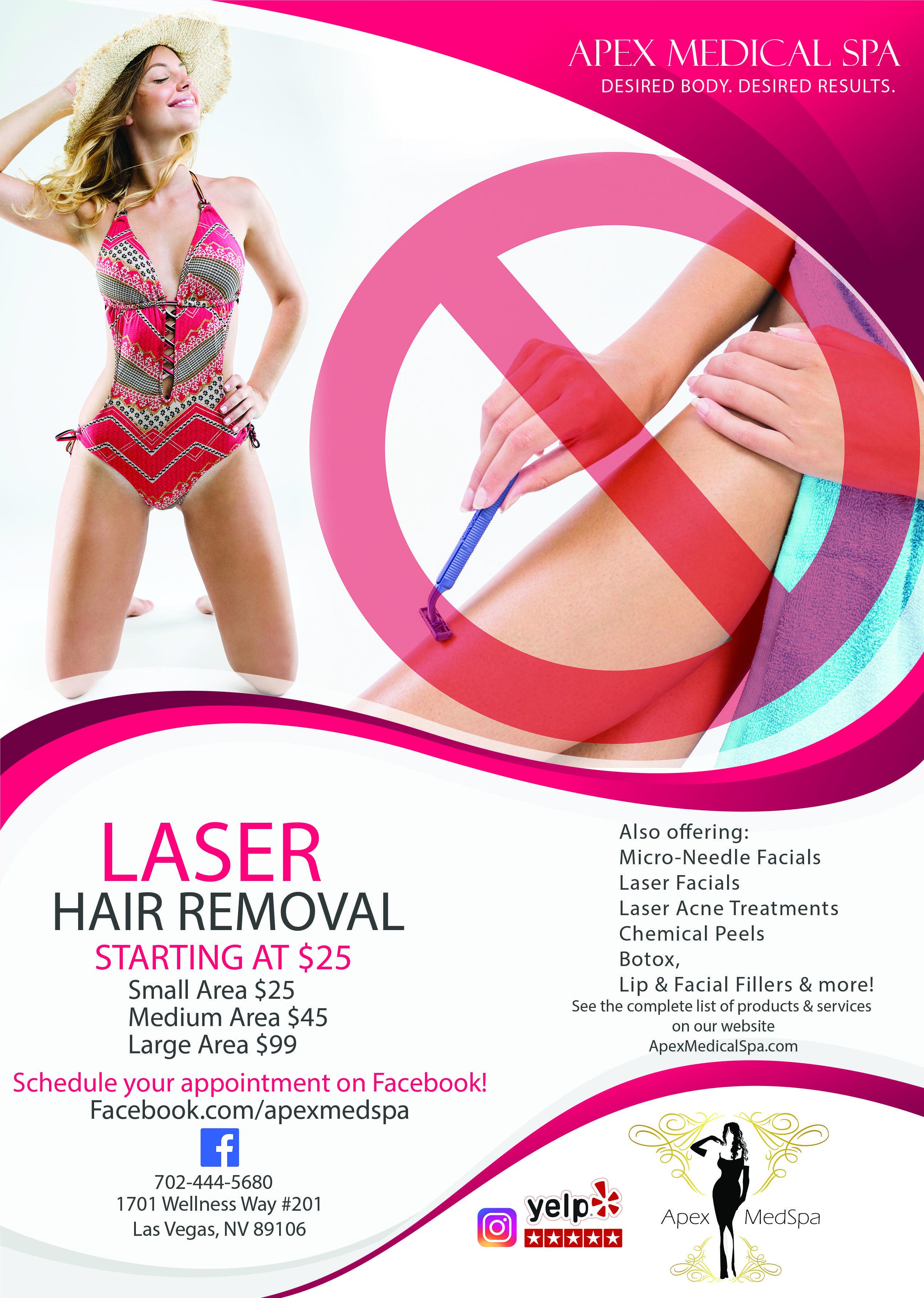 Laser Hair Removal Las Vegas Laser Facial Hair Removal Laser Hair Removal Laser Acne Treatment