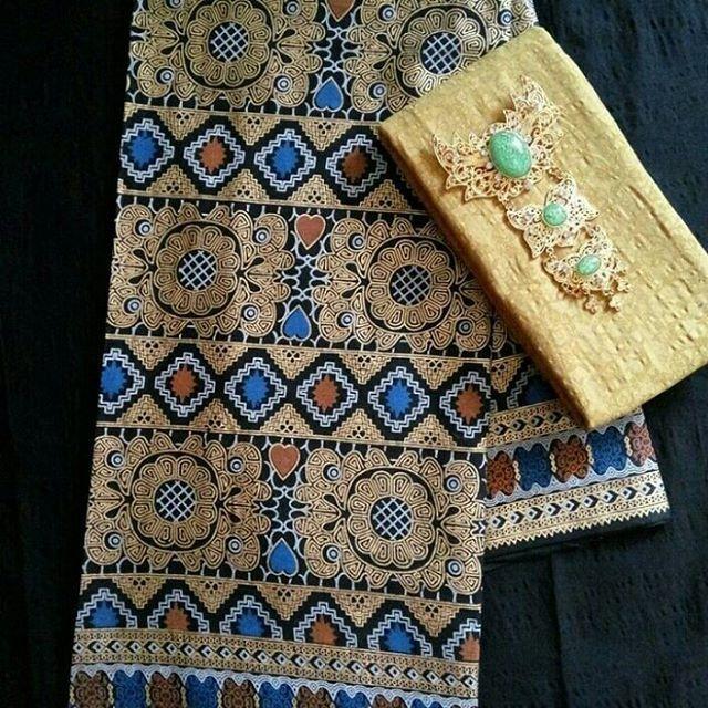 Set Kain Batik Prada  Embos   Ready Stok new motif prada dan
