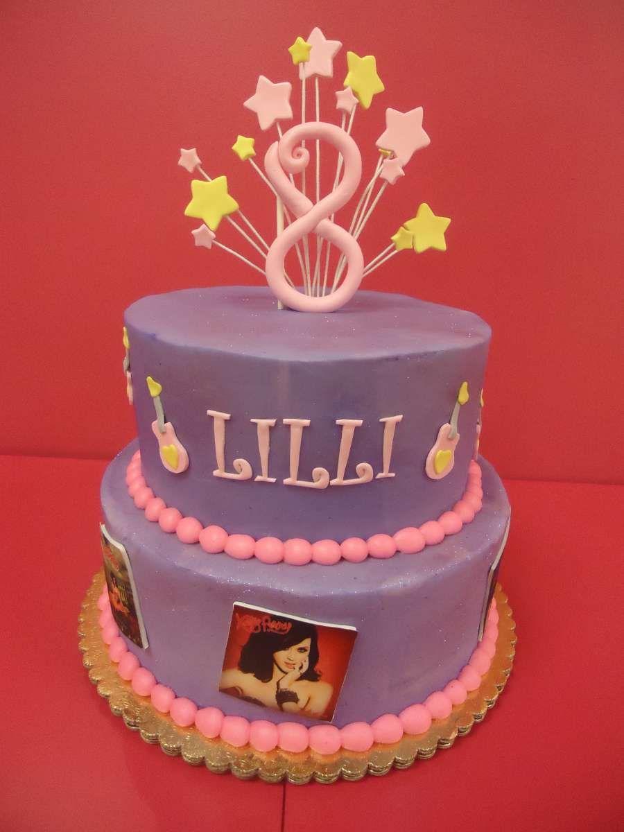 Katy Perry Themed Birthday Cake Bakedinmoore