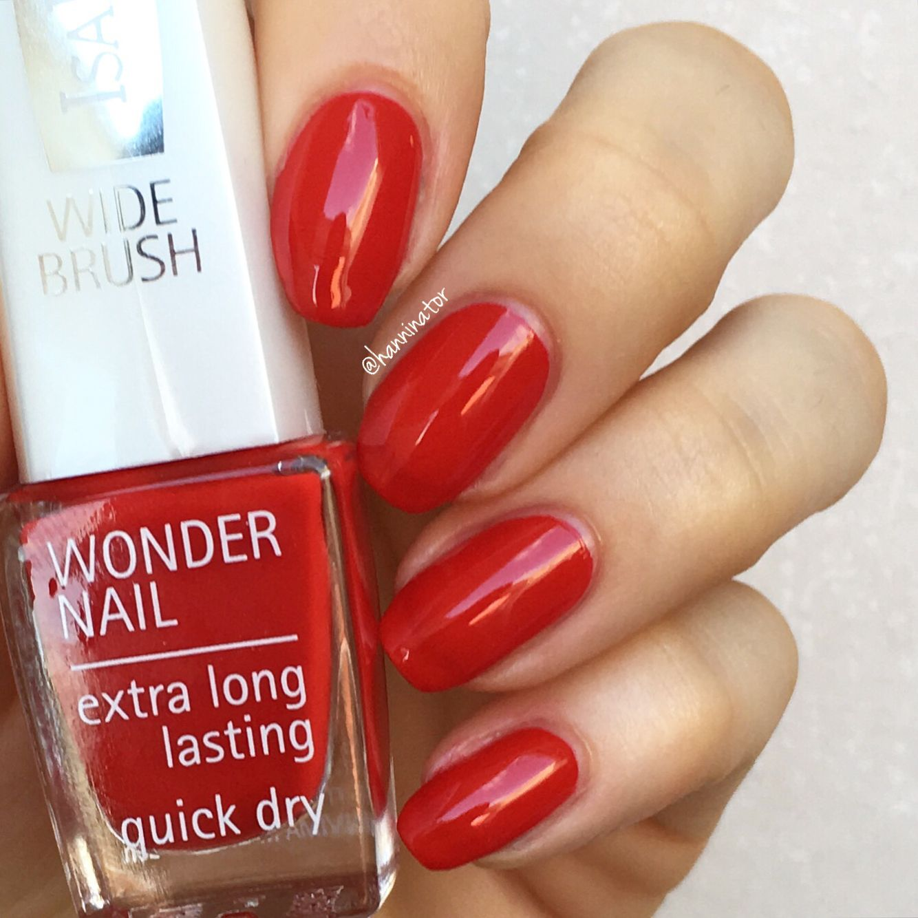 182 Summer Red - IsaDora Summer Nails collection | IsaDora swatches ...