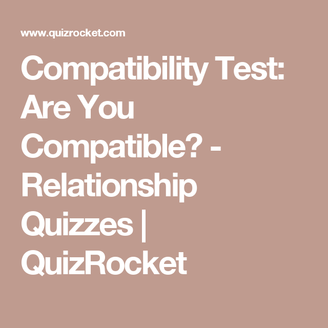 Dating personality test free