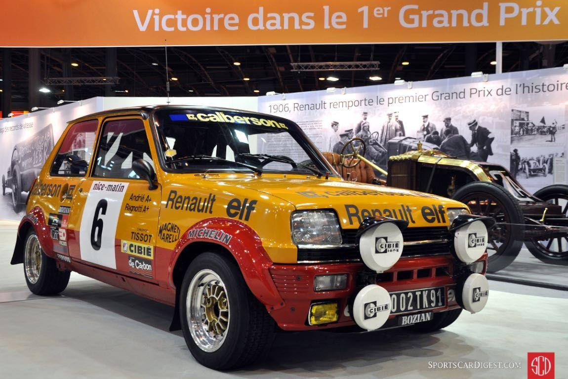 Salon Retromobile 2016 Report and Photos Renault 5