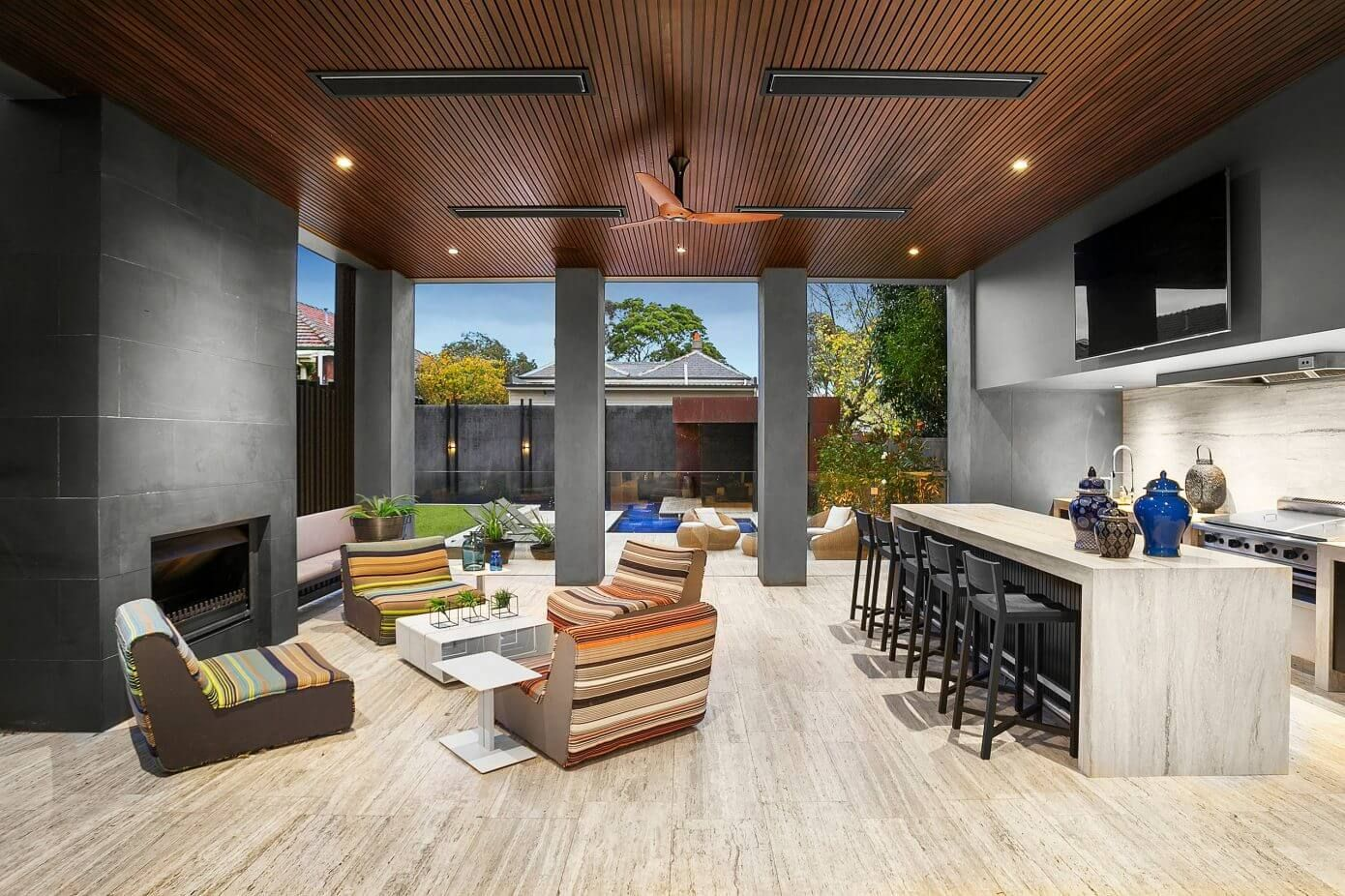 House in Melbourne by Bagnato Architects | House ... on Outdoor Living Space Builders Near Me id=49471