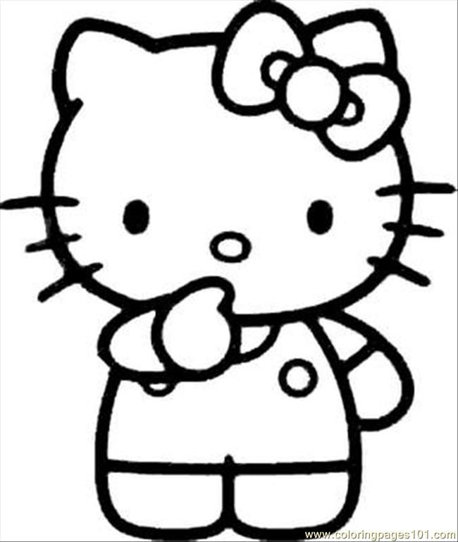 Free Printable Hello Kitty Coloring Pages Hello Kitty Colouring Pages Hello Kitty Printables Hello Kitty Coloring