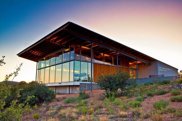 Haas Chapel At Embry Riddle Aeronautical University, Prescott, Arizona. Landscape  Architect:
