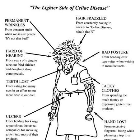The lighter Side of Celiacs Disease! | Gluten free humor ...