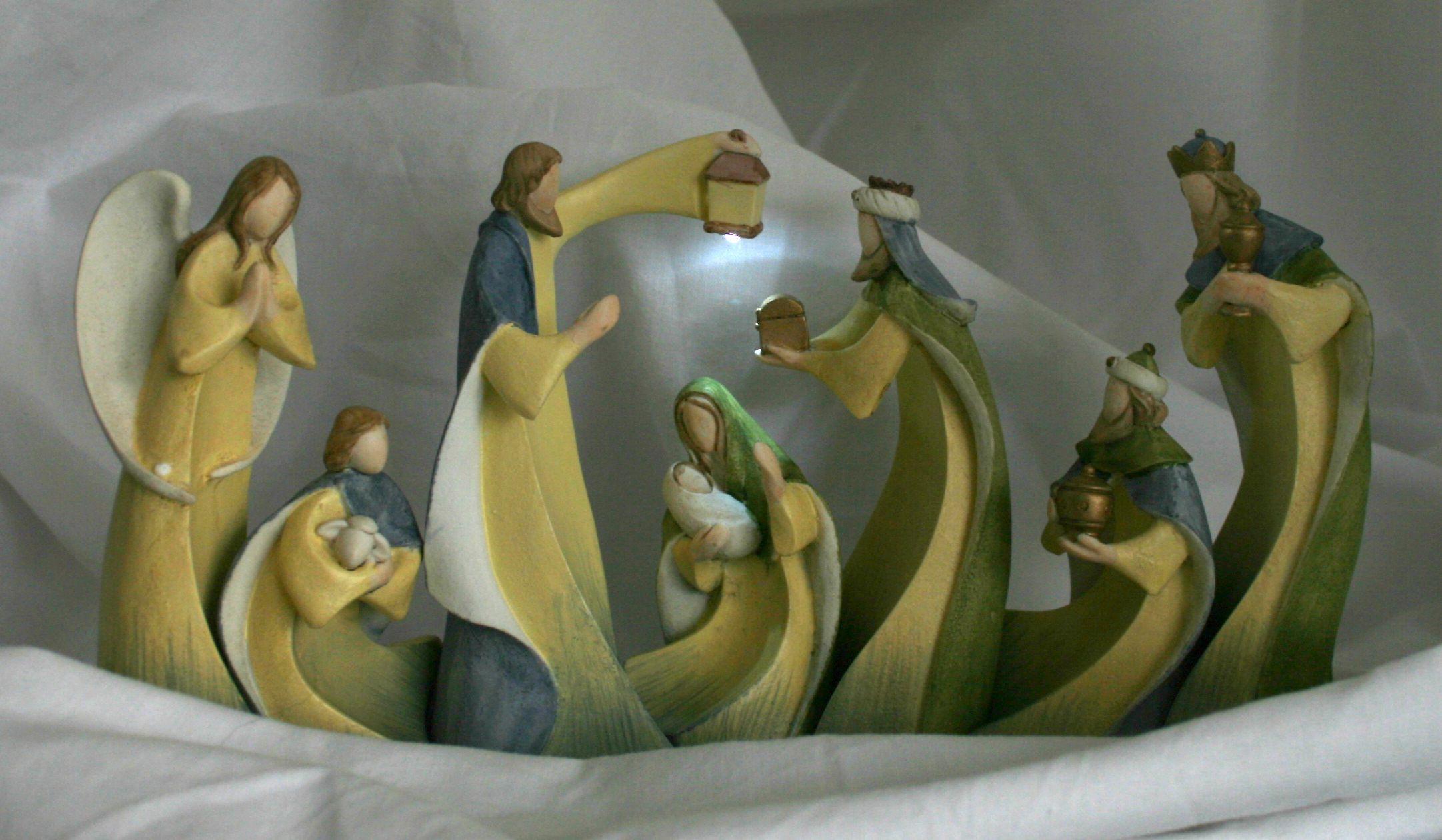 Belen navidad original buscar con google nacimientos de resina pinterest belen navidad - Belen moderno ...