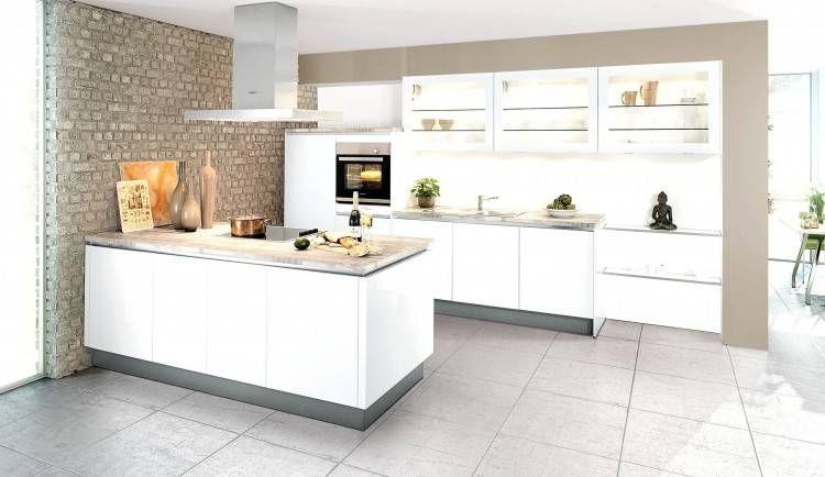 weiße rustikale Küche mit modernen Elementen Küche   Keuken hout beton, Houten keuken, Keuken