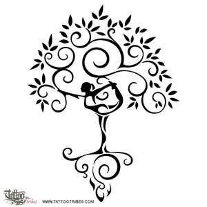 Not Tree Pose But Still Agro Tech Yoga Tattoos Tattoos