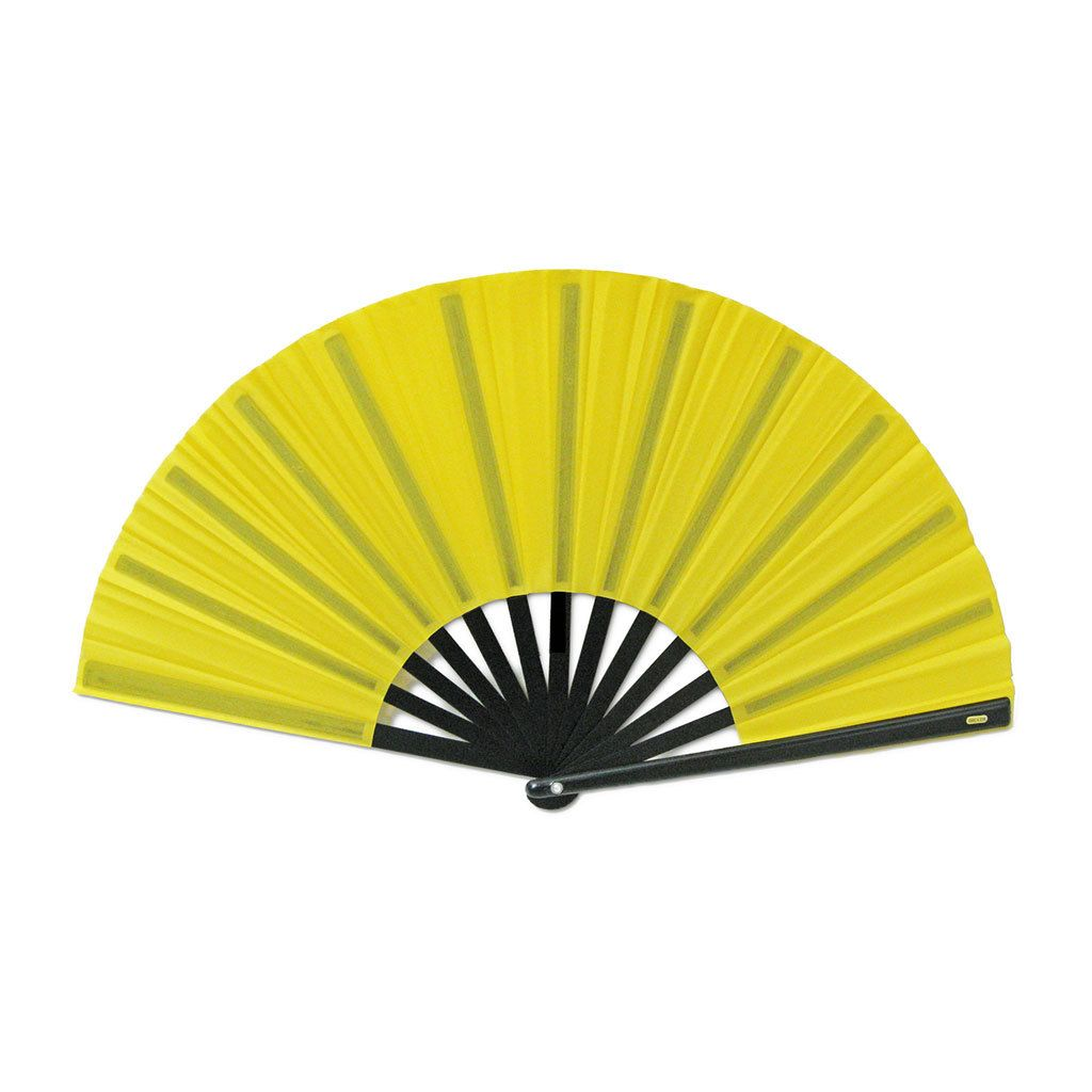 Chinese NylonCloth Fan for Ladies for Ladies is part of Yellow Clothes Fans - Chinese NylonCloth Fan for Ladies for Ladies