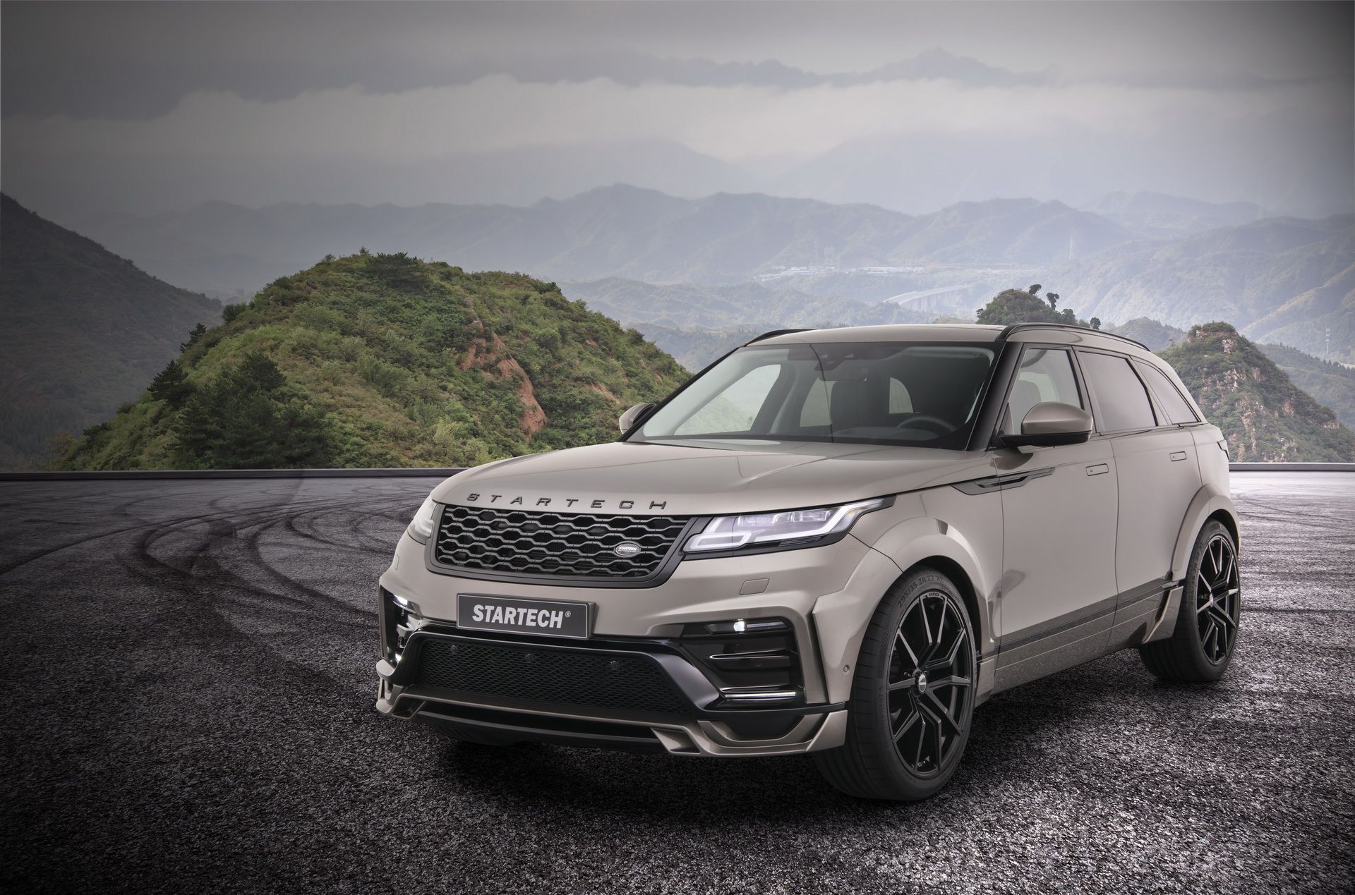 Widebody Range Rover Velar Is Startech's Geneva Showcar