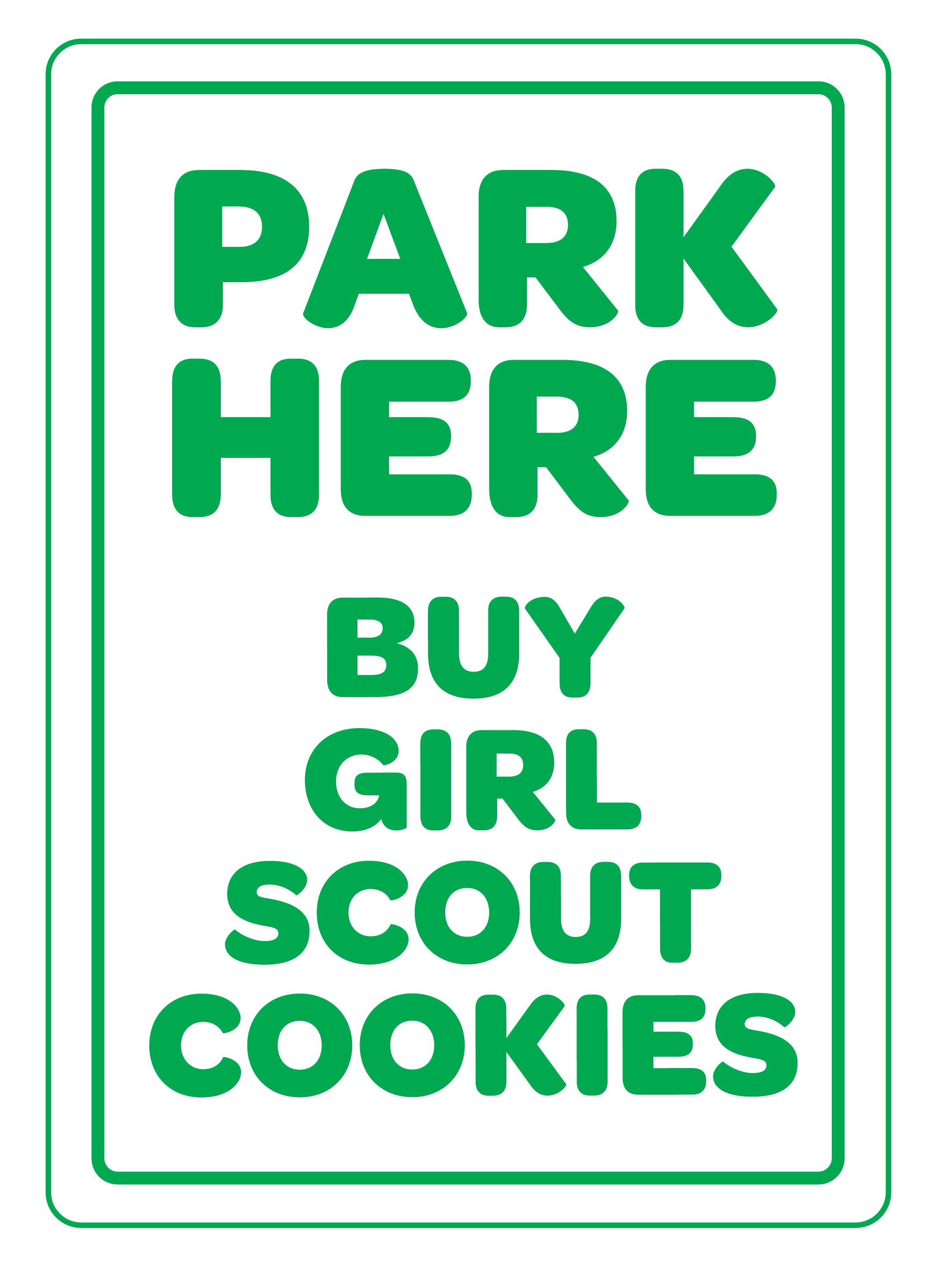 Girl Scout Cookie Letter  How To Buy Cookies How To Sell Cookies Thank You  Cards