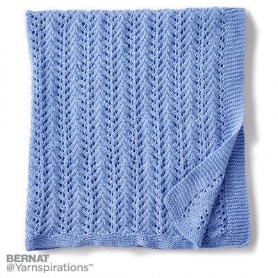 Free Easy Knit Blanket Pattern 36 X 40 Easy Level Free