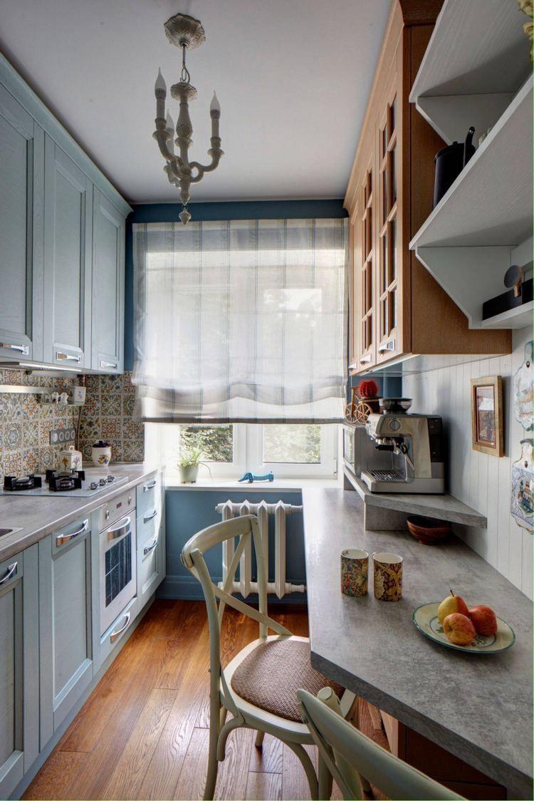 Konyha ötletek - 20 remek ötletadó konyha kisebb alapterületű ...