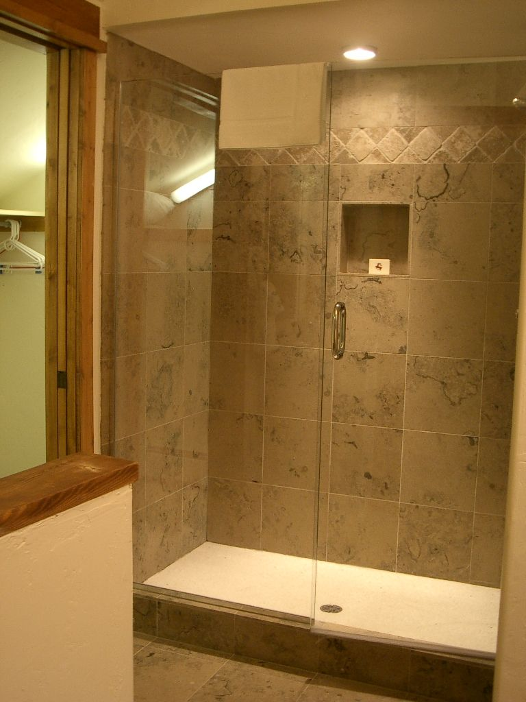 White Shower Pan To Match Vessel Sink And Toilet Shower Tub Glass Bathtub