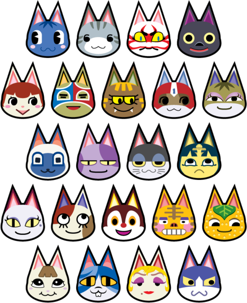 Pin by sopheava on geekalicious Animal crossing cats