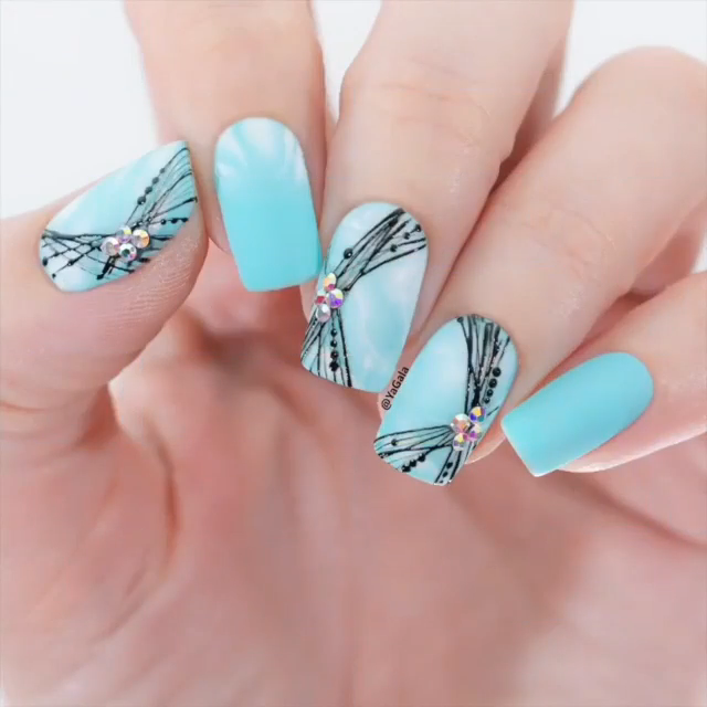 Photo of COOL SPIDER GEL NAIL DESIGN