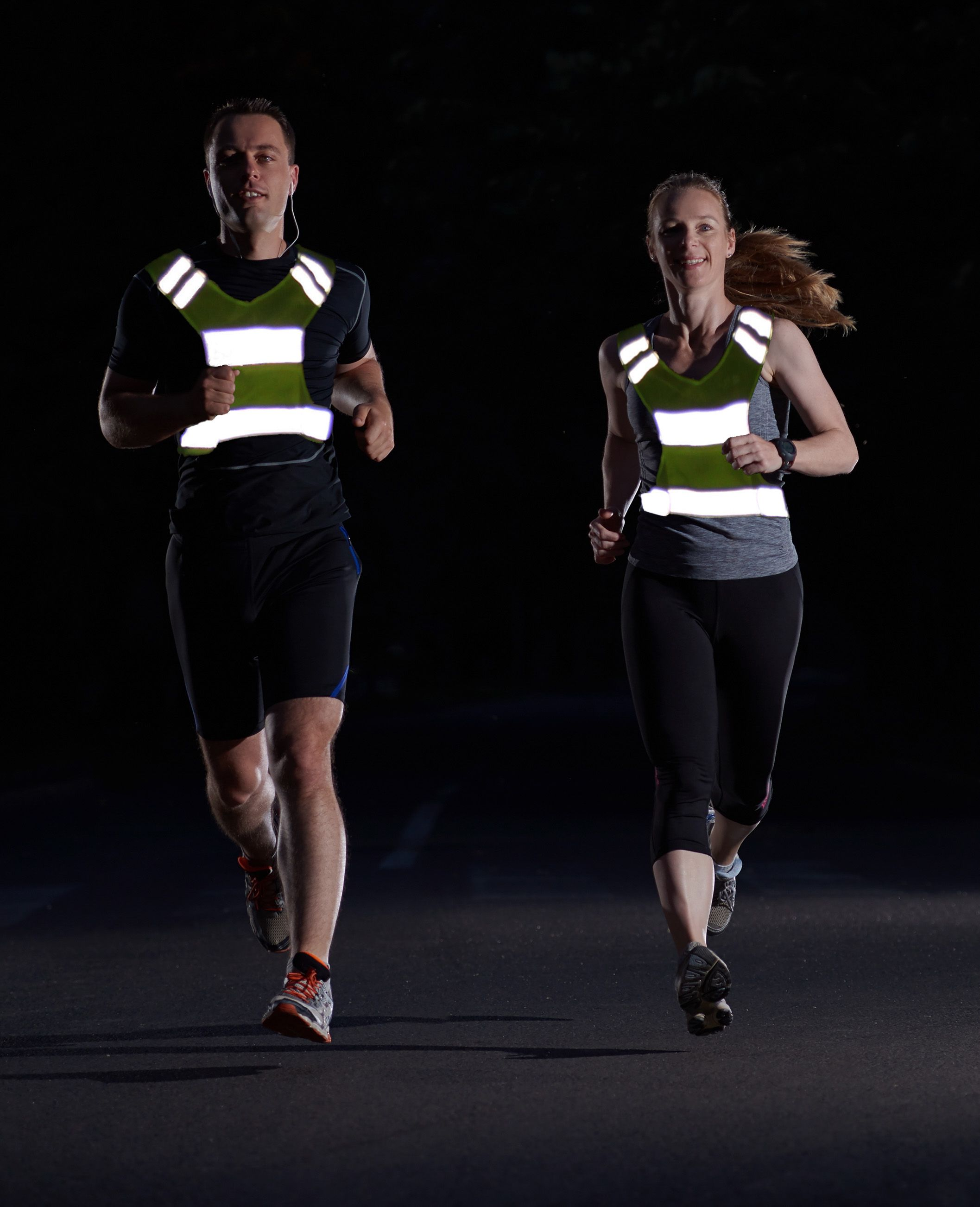 Firefly sports reflective safety sports vest men and
