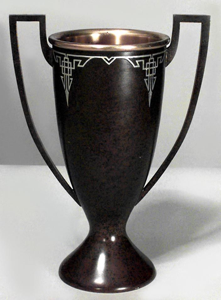 American Mission accessories urn/vase bronze
