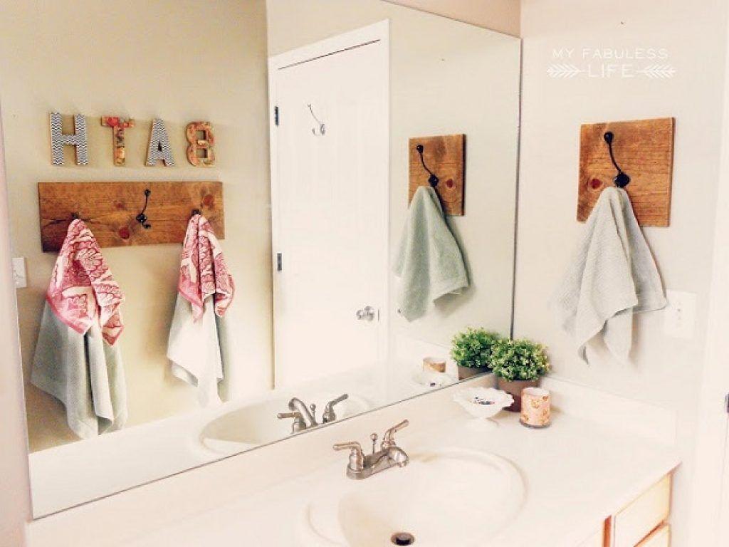 wall hooks bathroom  bathroom decor  pinterest  bathroom wall  - wall hooks bathroom