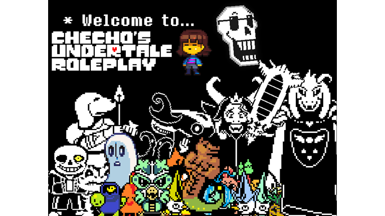 Chechos Undertale Roleplay Fixed Video Roblox The Best