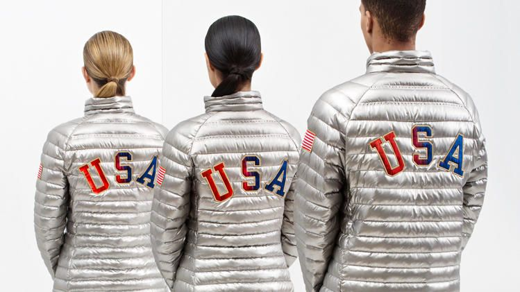 America's silver podium jackets have a special surprise