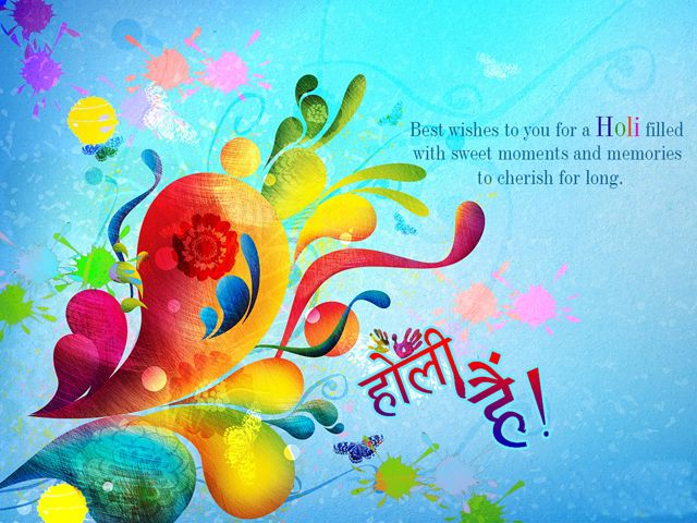 Happy holi greetings card holi greetings pinterest holi happy holi greetings card m4hsunfo