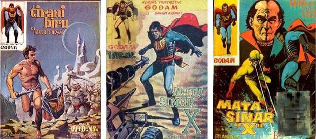 Dunia Fantasi Komik Download Gratis Godam Marvel Dc Comics Superhero