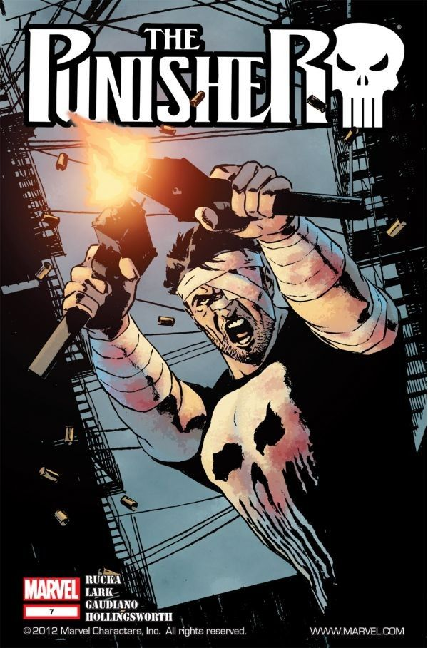 Punisher #7 		 		Long ago, as the Punisher battled Daredevil, one cop's life was forever changed. Find out how.