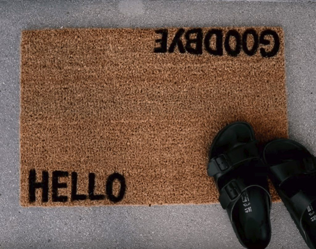 6 Ideas To Make Your Ikea Doormat A Lot More Welcoming Ikea Hackers Upcycling Projekte Upcycling Projekte
