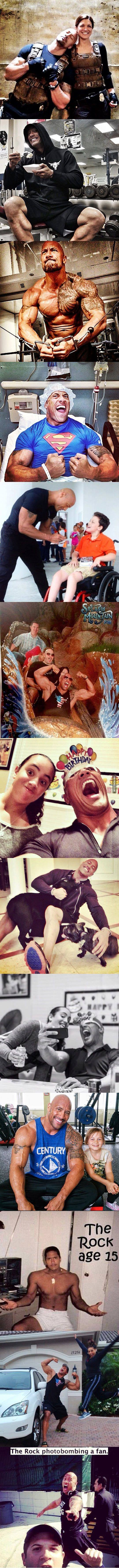 The Rock is awesome