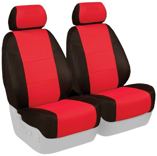 Coverking Custom Fit Front 50 50 High Back Bucket Seat Cover For Select Pontiac Solstice Models Spacermesh 2 Tone Bucket Seat Covers Map Storage Seat Cover