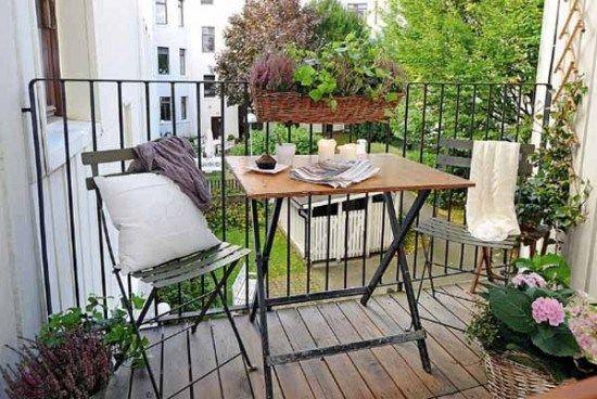 tante idee per decorare il terrazzo in estate e in