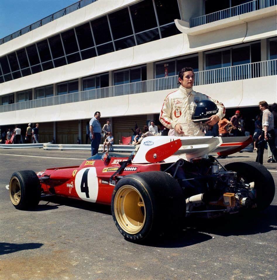 1970 Jacky Ickx sera vice-champion du monde, Ferrari 312B