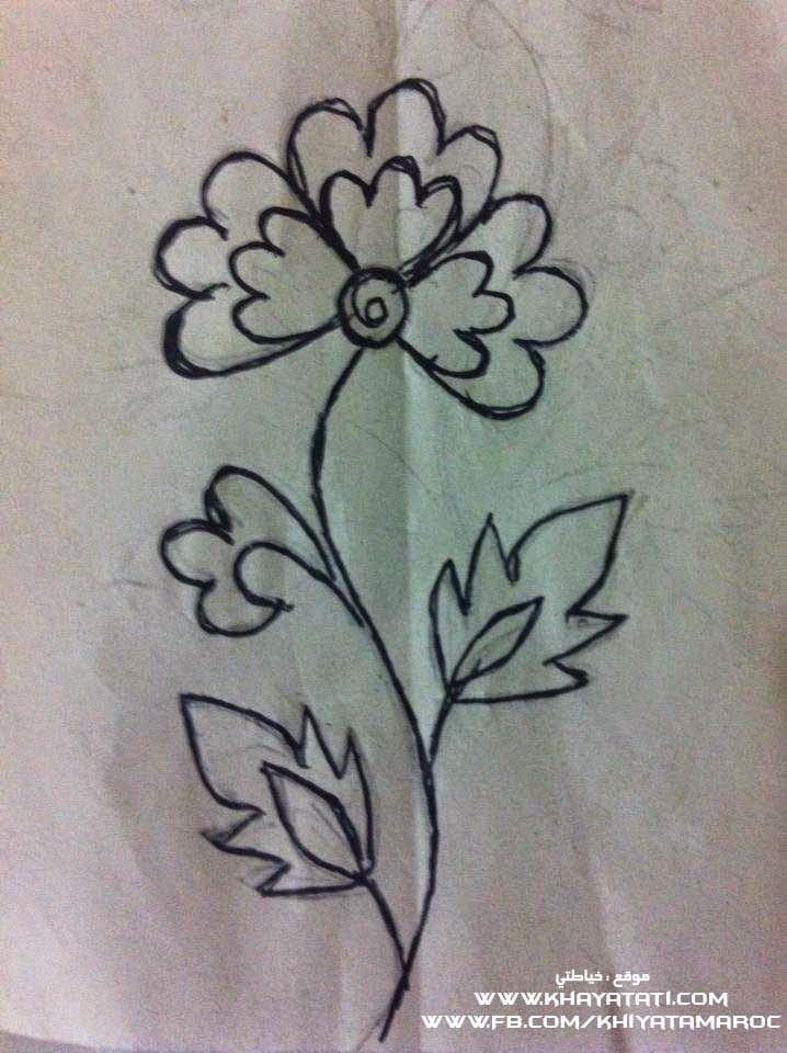 رشمات الطرز الرباطي تحميل رشمات الطرز الرباطي Hand Embroidery Designs Embroidery Designs Hand Embroidery