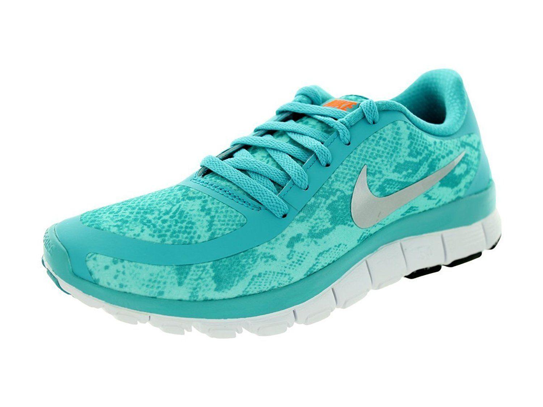 Amazon | Nike Women's Free 5 0 V4 Ns Pt Dsty Ccts/Mtllc Slvr/Blchd Trq Running  Shoe 9 5 Women US | Running