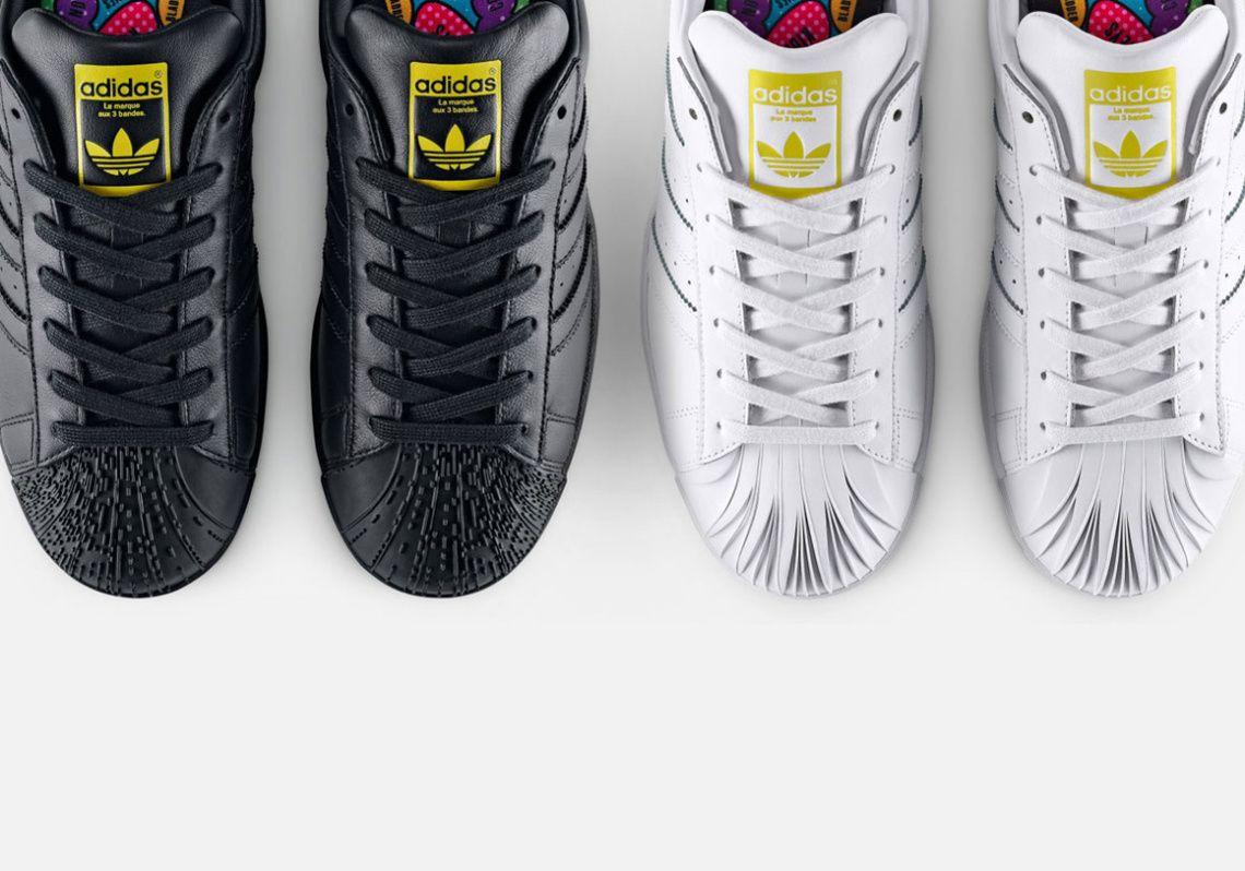 Acheter 2019 Pharrell Williams X Adidas Superstar Supershell