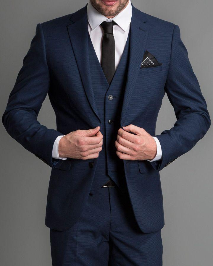 Groom Style Dark Blue Suit Blue Suit Men Wedding Suits Men