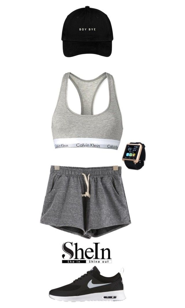 """""""Untitled #46"""" by nanaddd on Polyvore featuring Calvin Klein and NIKE"""