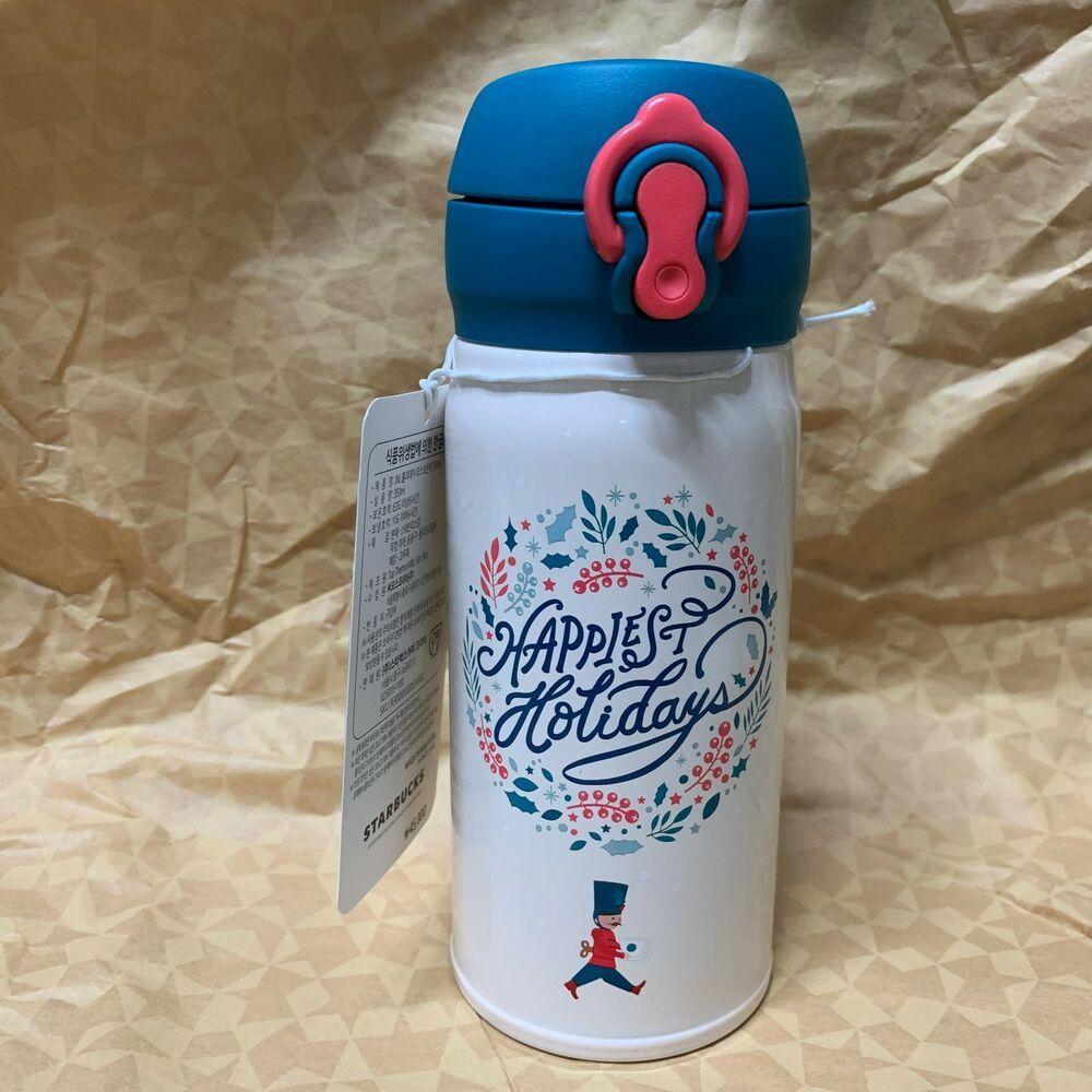 Starbucks Korea 2018 Christmas Limited SS Troy Nutcracker Tumbler 473ml+Tracking