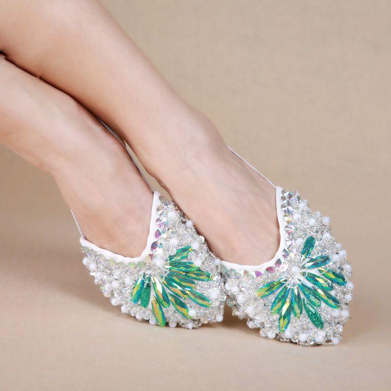 3ef2c2f6c Cheap Dancewear Women Ballet Flats Belly Dance Practice Shoes ...