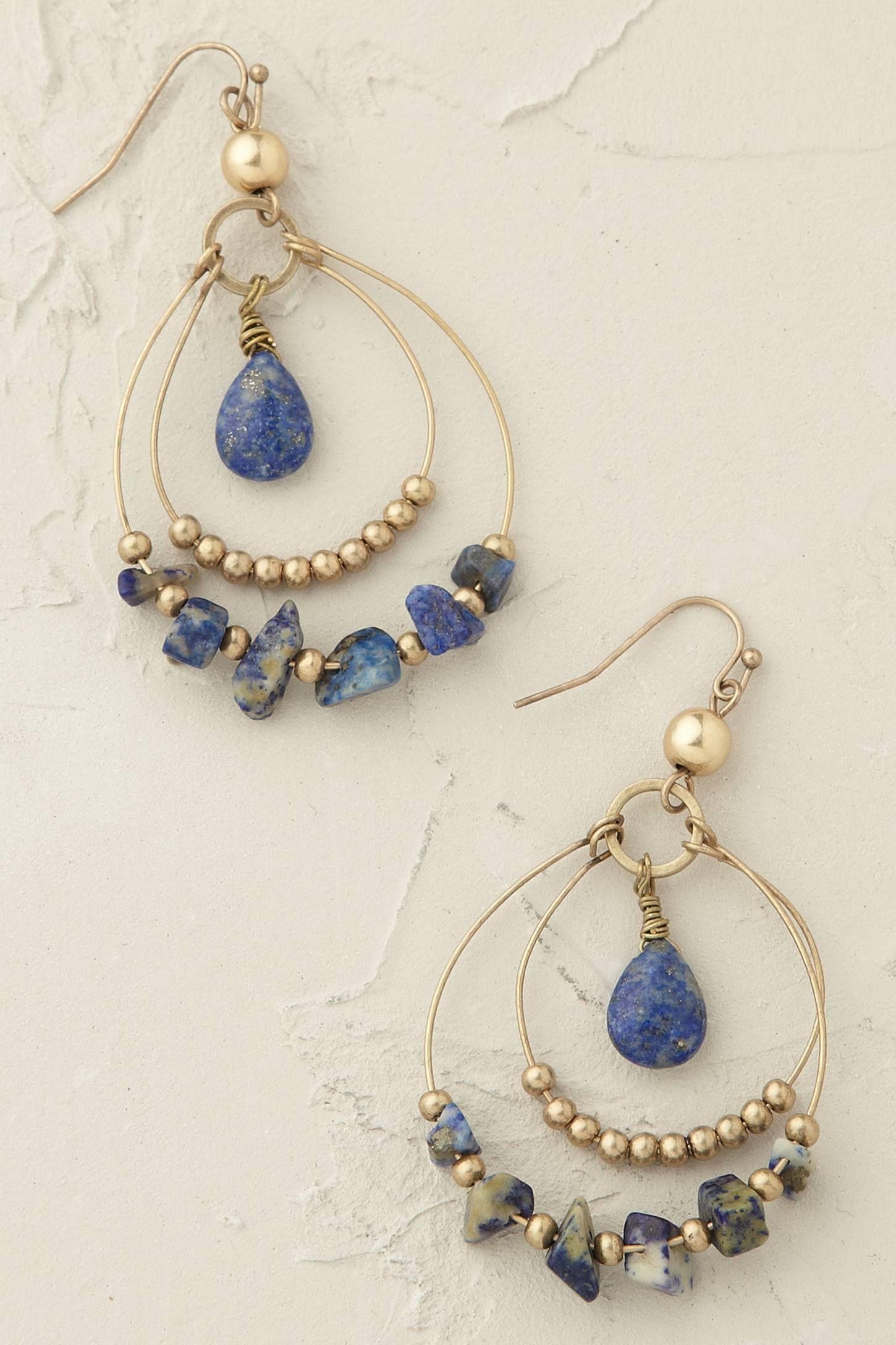 Belize Hoop Earrings - anthropologie.eu | Alambrismo | Pinterest ...