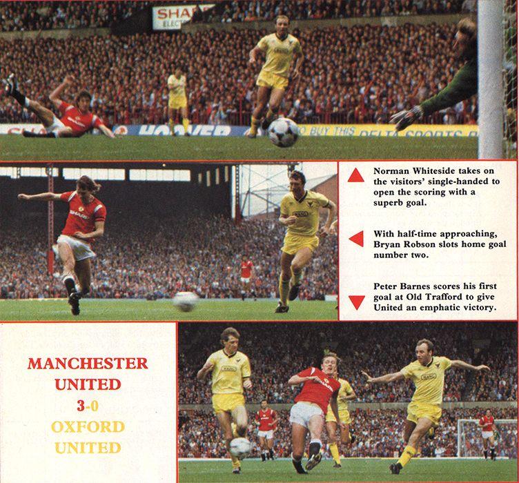 Norman Whiteside - Manchester United & Northern Ireland Legend: Manchester United 1984-86 seasons