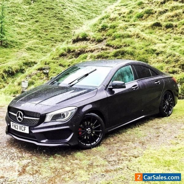 Mercedes Benz Sport: 2013 13 Mercedes-Benz 1.6 CLA C Class 180 AMG Sport Sat