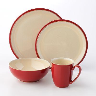 Denby Dine Cherry 4-pc. Dinnerware Set $60 & Denby Dine Cherry 4-pc. Dinnerware Set $60 | Kitchen | Pinterest ...