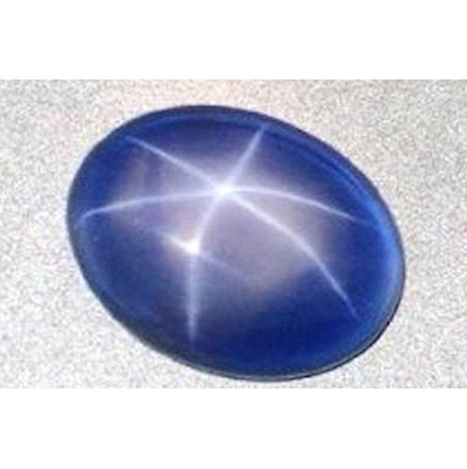 cabochon star natural sapphire ray asp blue productdetail