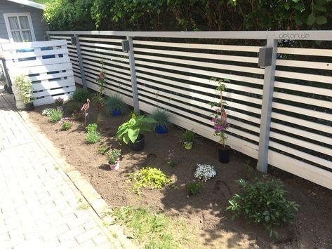 DIY Garten Sichtschutz Zaun schnell & günstig // delari