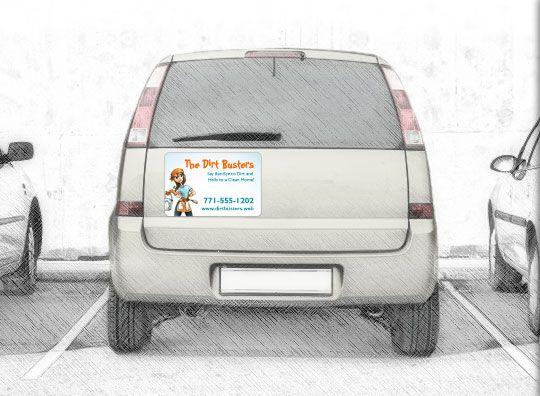 Car Magnets Magnetic Signs Car Door Magnets Vistaprint Smart - Custom car magnet signs