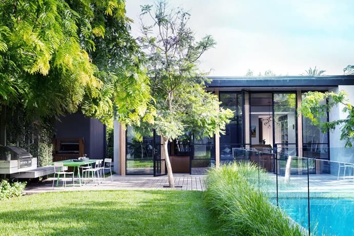 Sophisticated family backyard revamp in Melbourne is part of Back garden Kids - A Melbourne family have transformed the backyard of their home before saving up the funds to renovate their home  See how making a garden top priority in the reinvention of their home has paid off